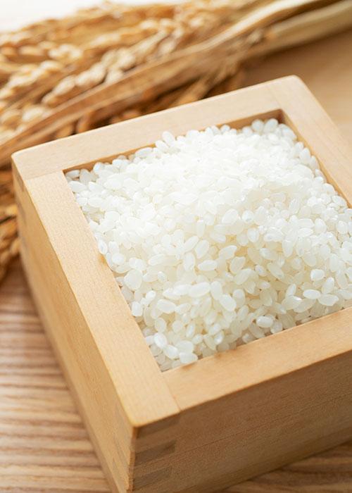 こだわり素材 米
